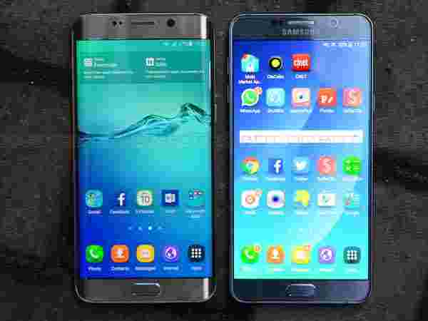 Samsung Galaxy Note 5 and Note 5 Edge