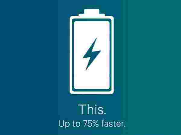Charger device faster
