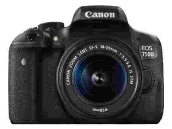 Canon EOS 750D (Kit -EF-S 18 - 55 mm IS STM) DSLR Camera