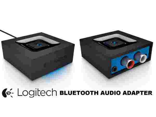 Make your music wireless: Logitech Bluetooth audio adapter
