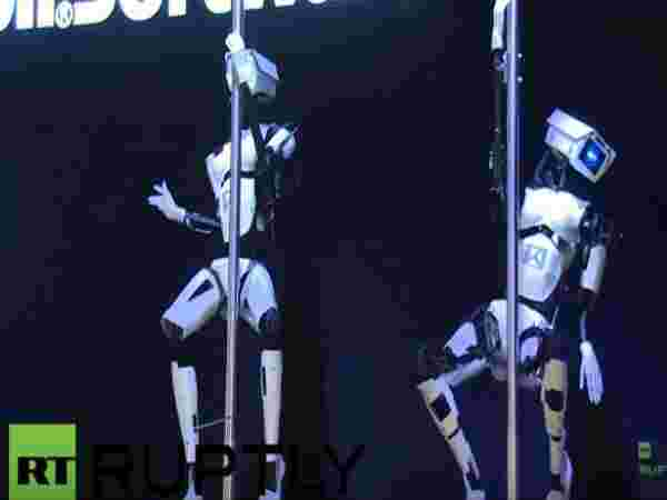 ROBOTIC POLE DANCERS – LEXY AND TESS