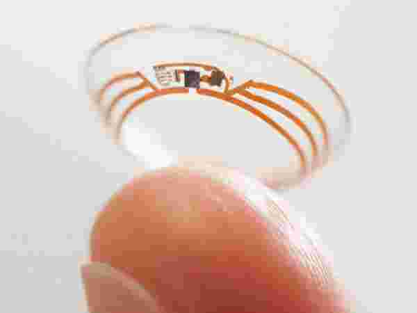Google Glucose Monitoring Contact Lenses