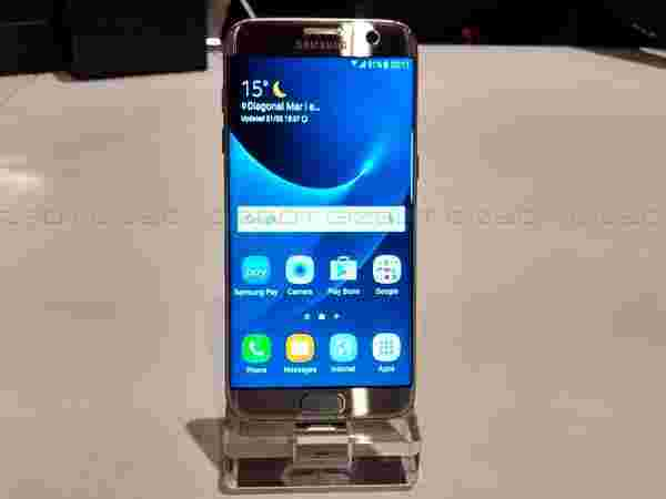 Samsung Galaxy S7 Edge priced at Rs 56,900