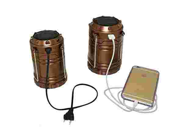 LED Rechargeable And Solar Power Camping Lantern Light Only From M.P.Enterprises
