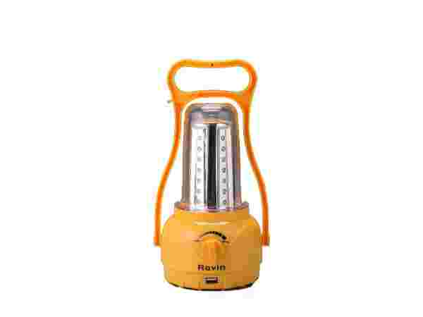 Ravin Rechargeable Emergency Light Solar Lantern with Built In USB Port for Phone Charging 4000 mAh (2.00 Watts)