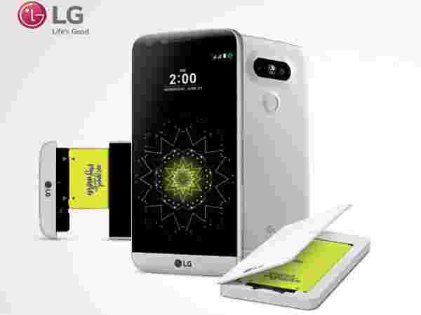 Free Battery and Charging Cradle worth Rs. 3,499 Only with LG G5 Smartphone Purchase Hurry!