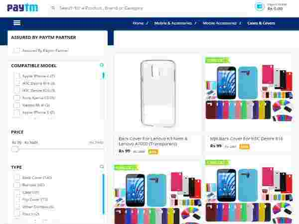Mobile Cases and Covers All at Flat Rs.99 Pick Now