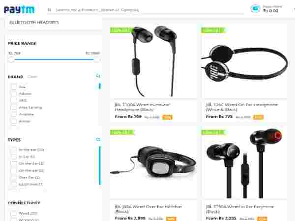 JBL Headphones Pick them now at 60% Discount Hurry