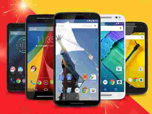 Exchange Upto Rs.14,500 on Motorola phones