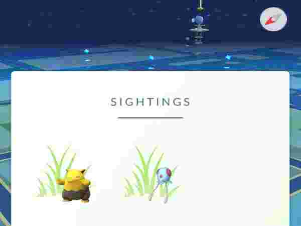 Get to know when a speciifc Pokemon is near you