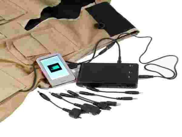 Solar Jacket Charger
