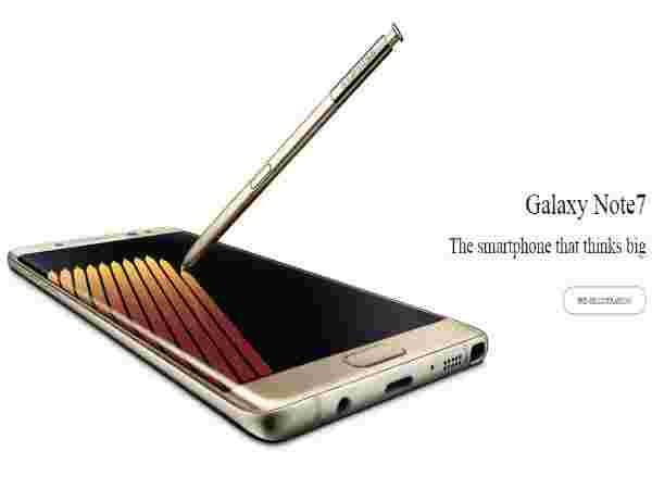 Samsung Galaxy Note 7 Booking At TheMobileStore