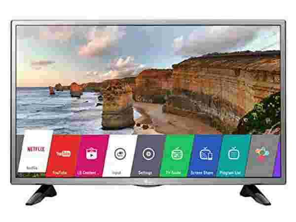 25% off on LG 80 cm (32 inches) 32LH576D HD Ready Smart LED IPS TV (Black)