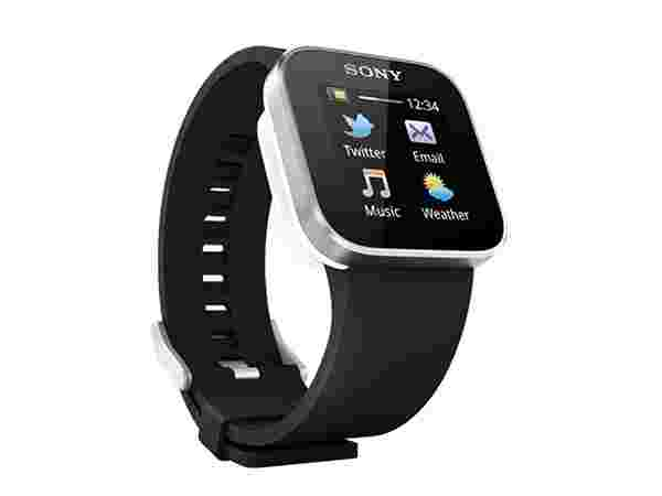 Sony Designer Bluetooth Digital Black Dial Unisex Watch