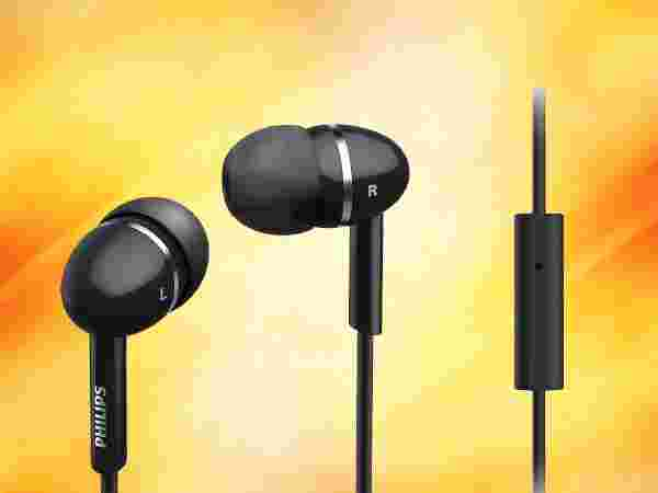Philips SHE1455BK In-Ear Headphone With Mic