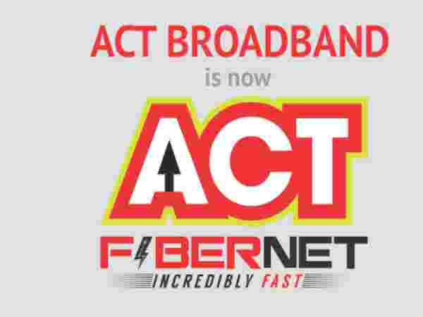 ACT Fibernet gives a speed of 100 Mbps