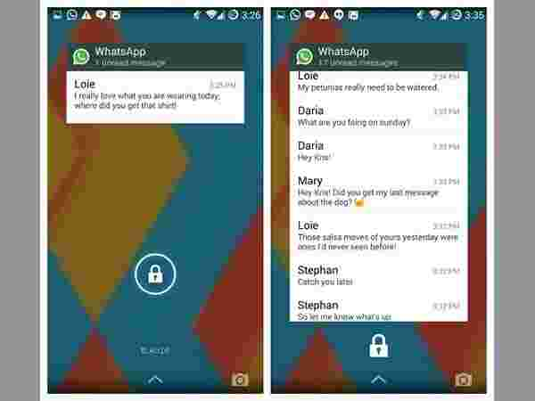 Here's How You Can Add WhatsApp Widget to Your Lockscreen