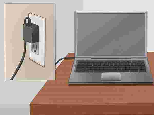 Method 4. Use Laptop without battery when plugged in