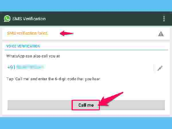 Method 4: Use WhatsApp Without Mobile Number
