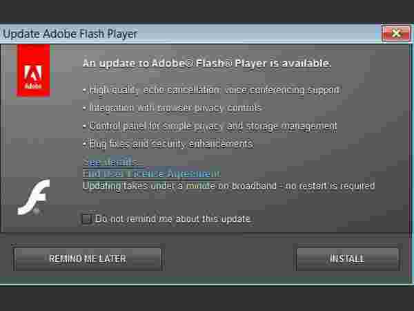 Check Flash Version and Video Card Driver