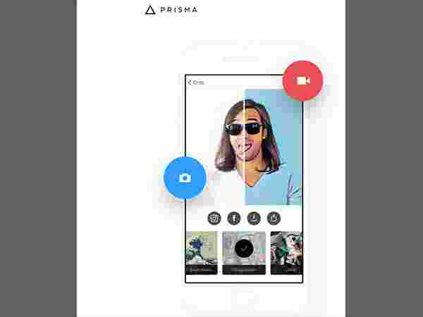 How to record videos on Prisma