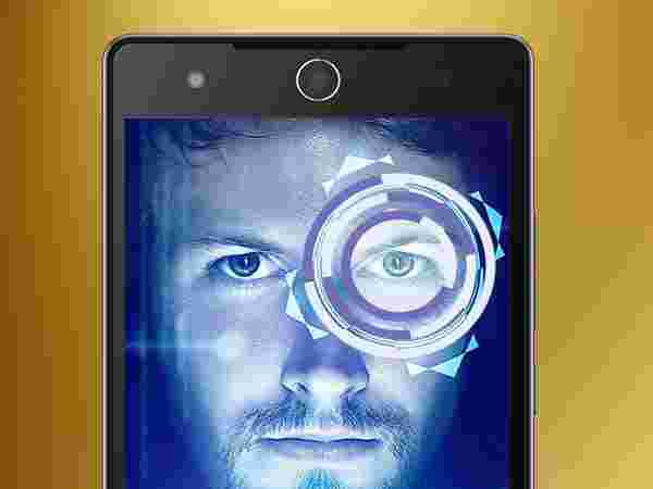 Unlock the smartphone with your eyes