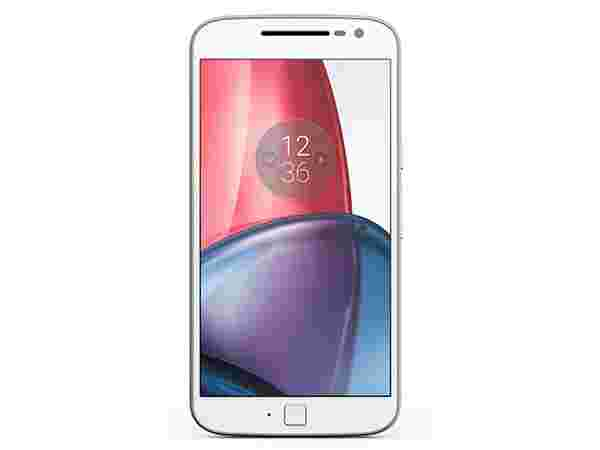 Moto G Plus, 4th Gen (White)