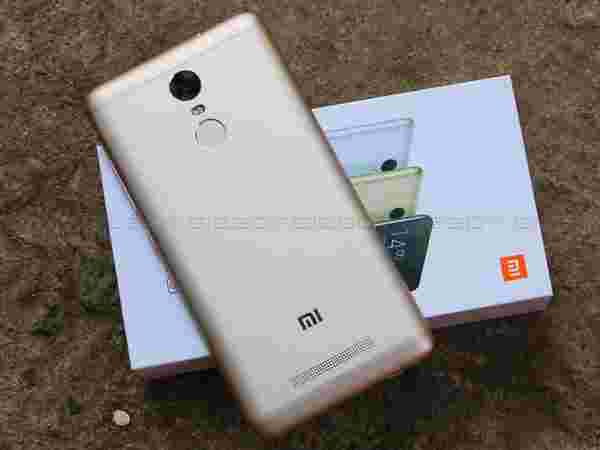 Redmi Note 3 16 GB is also available at Re. 1