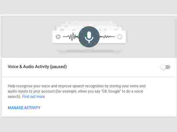 Step 7. Stop Google From Saving Recording Your Voice