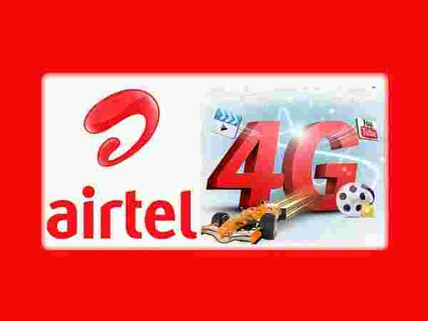 Get 10 GB free 4G data from Airtel