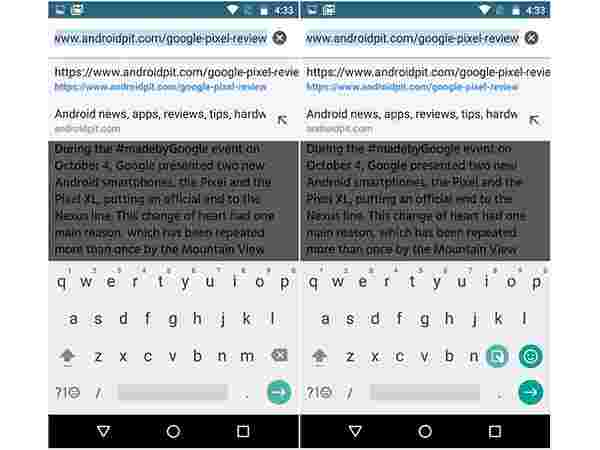 4. Make the Google keyboard occupy less space