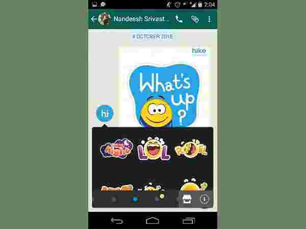 How to Send Hike Stickers on WhatsApp [Android and iPhone