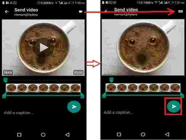 2.  How To Send A GIF on WhatsApp