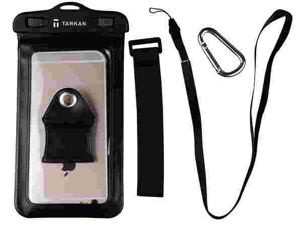 Tarkan IPx8 100% Water / Dust Proof Touch Sensitive Transparent Universal Pouch Cover