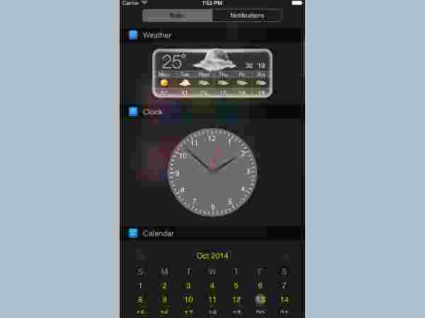 Top 5 Lock Screen Widgets for your iPhone 7 - Gizbot News