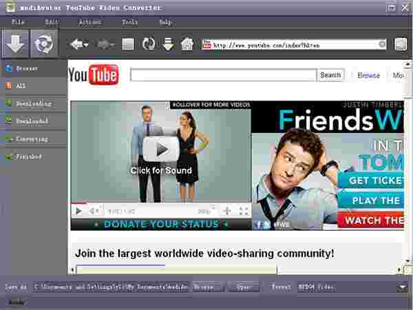Download Videos Using Converter Tools