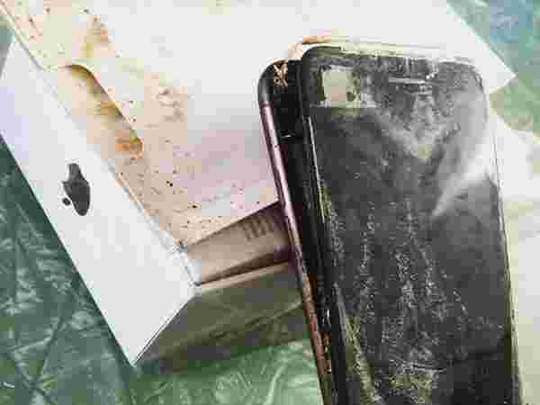 iPhone 7 Burst into Flames