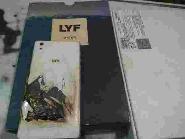 Reliance LYF Water 1 Exploded While Browsing
