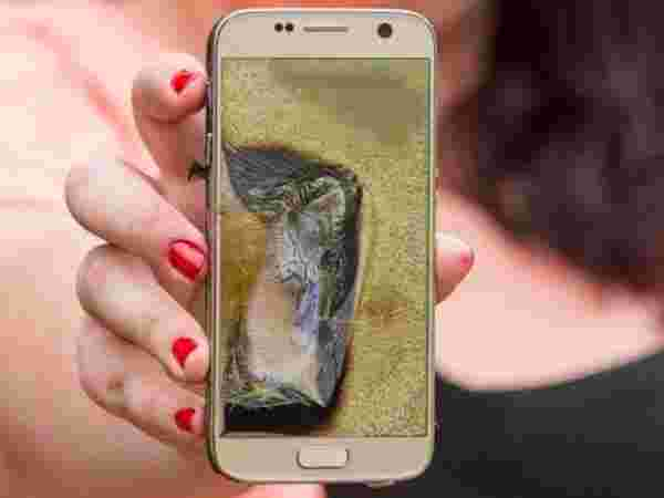Samsung Galaxy S7 Edge Explode Due to Overnight Charging