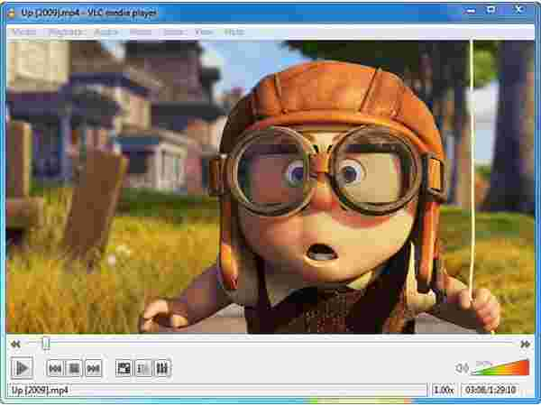Step 1:  Add the video file to VLC media player