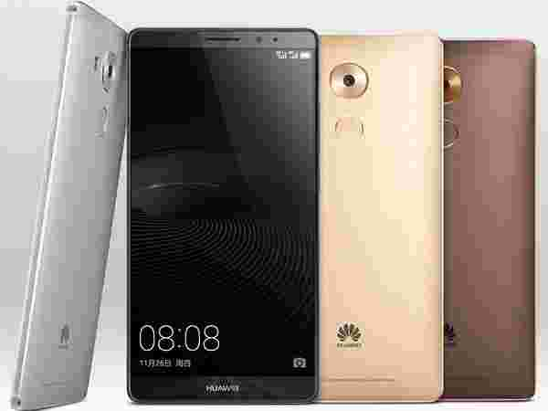 Huawei's upcoming handsets