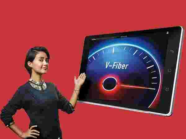 What are the Airtel V-Fiber plans?