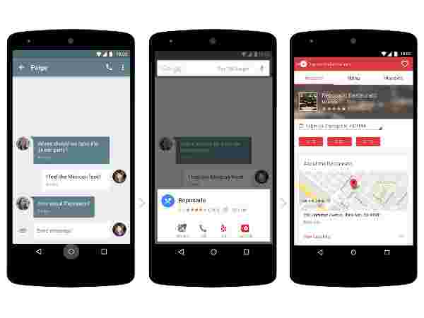Enable Google Now on Tap