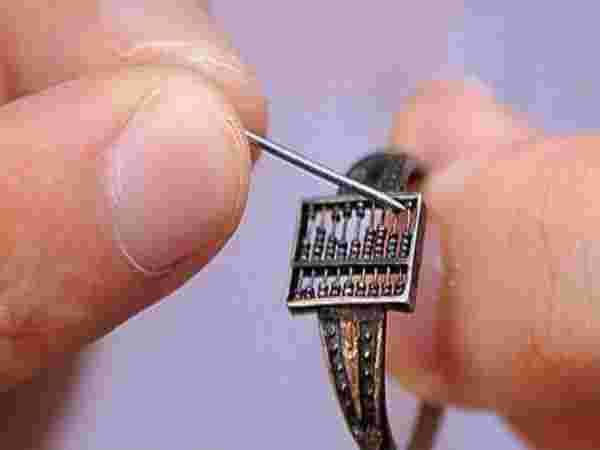 Abacus Ring, 1600's