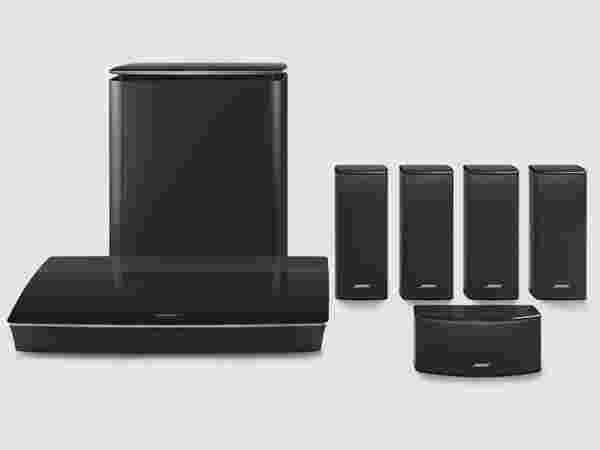 Bose uncompromising 5-speaker home theater system