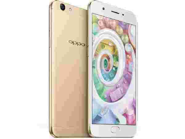 Oppo F1S Launched at Rs 18,990