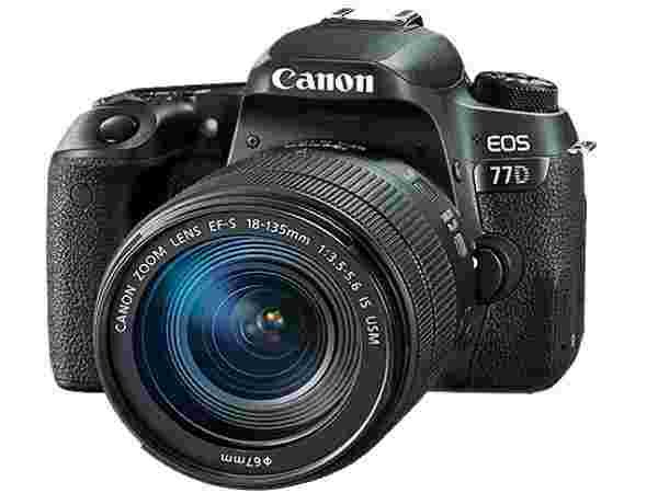 Canon EOS 77D Camera
