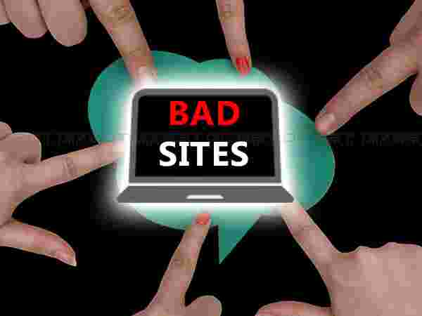 Promoting and profiting from bad sites