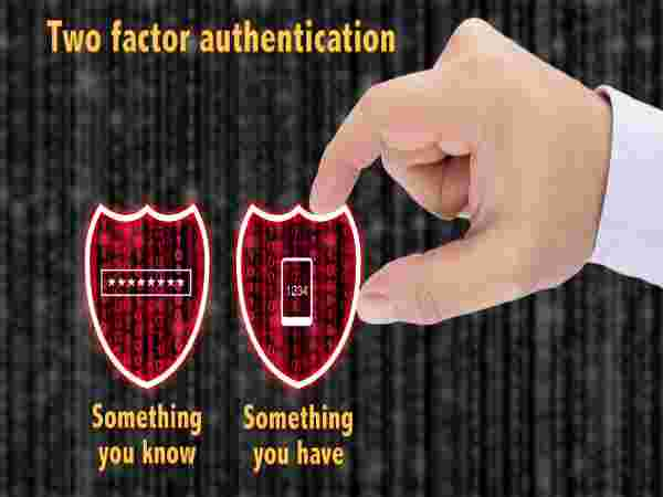 Two-factor Authentication is a well-known security feature