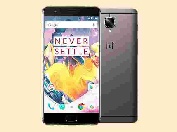 OnePlus 3T Midnight Black (EMI starts at Rs 3,126.02/month)